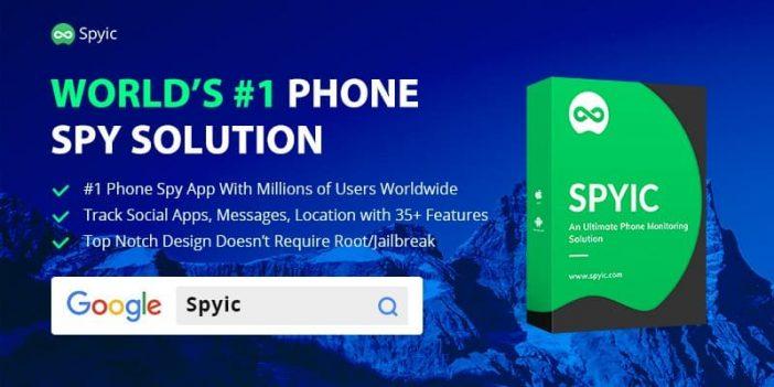 Spyic app banner