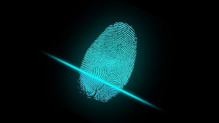 A photo of fingerprint