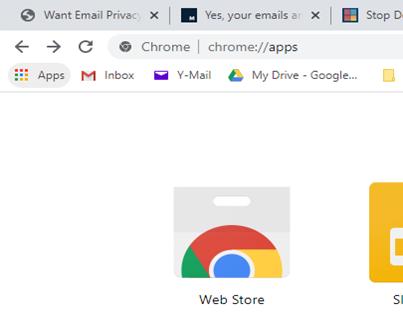 screenshot of chrome browser