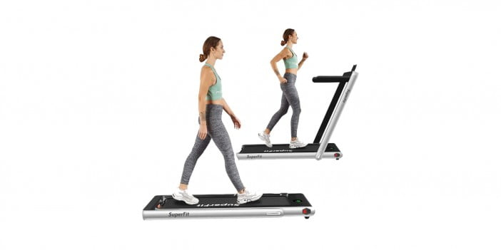 GoPlus Superfit 2 in 1 Folding Treadmill
