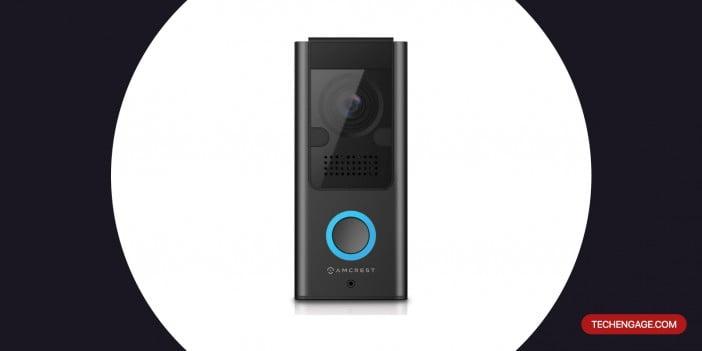 An Image of Amcrest 1080P Video Doorbell Camera Pro