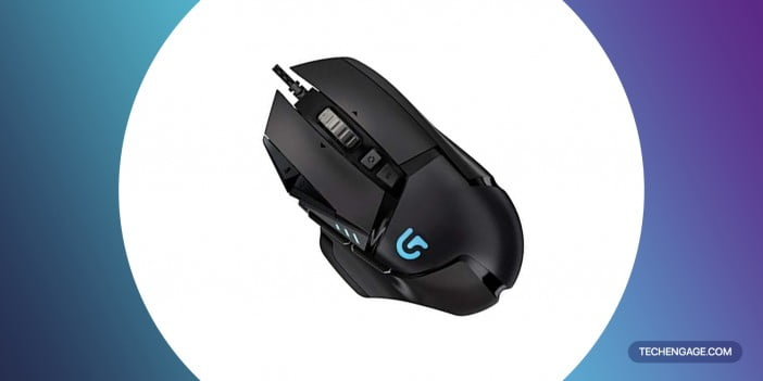 An Image of Logitech-G502-Proteus-Spectrum-RGB-Tunable-Gaming-Mouse