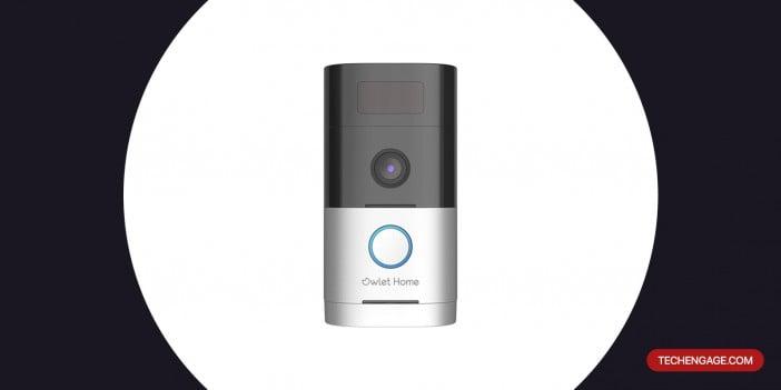 An Image of Owlet Home WiFi Smart Video Doorbell