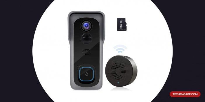 An Image of ZUMMIBALL 2020 WiFi Video Doorbell