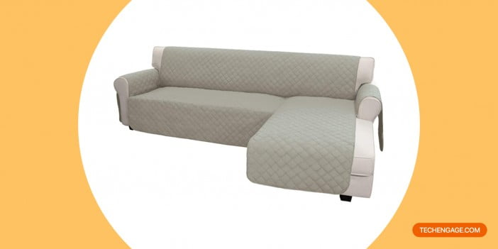 Easy-Going Sofa Slipcover L Shape Sofa Cover Sectional Couch Cover Chaise Lounge