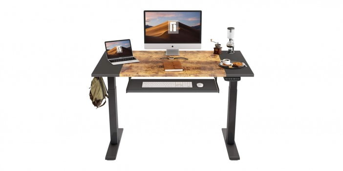 FEZIBO Dual Motor Height Adjustable Electric Standing Desk