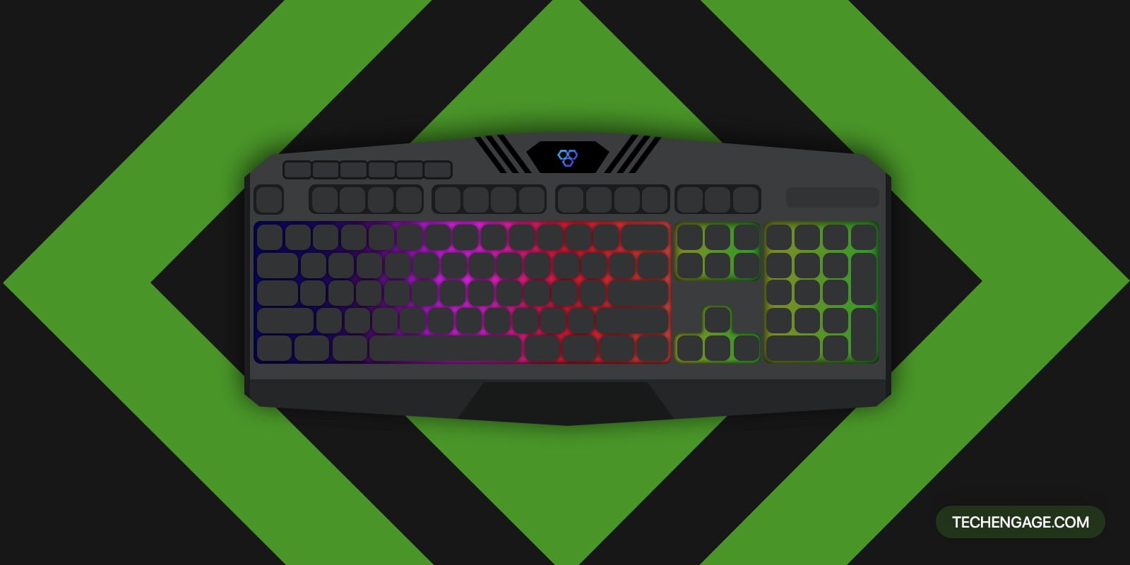 Image of a gaming Keyboard