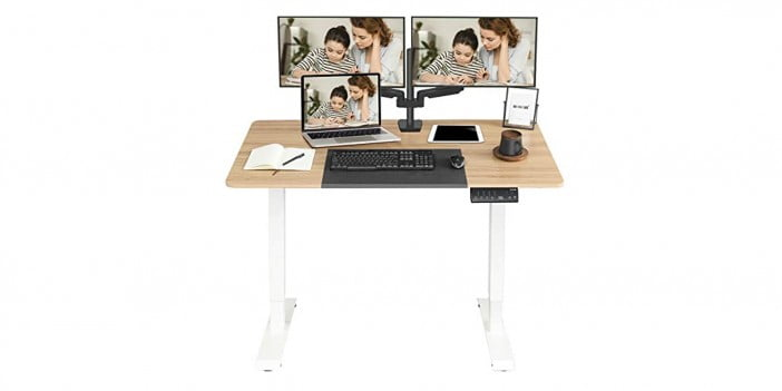 MONOMI Electric Height Adjustable Standing Desk