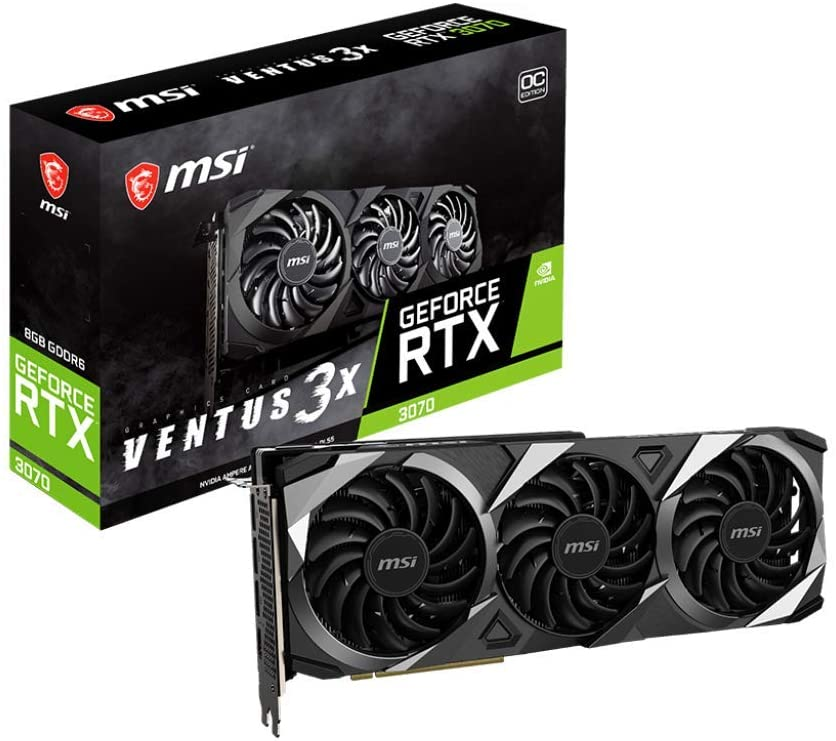 Nvidia GeForce RTX 3070 by MSI