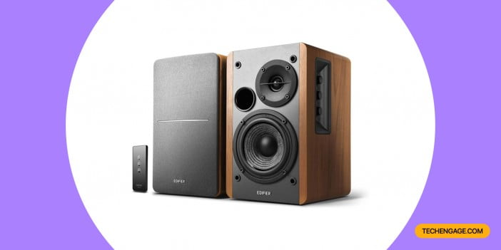 An Image of Edifier R1280T Powered Bookshelf Speakers_