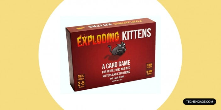 An Image of Exploding Kittens Card Game – Family-Friendly Party Games
