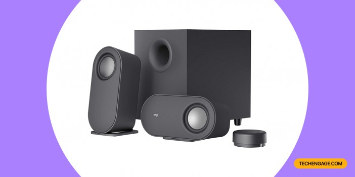 An Image of Logitech Z407 Bluetooth Computer Speakers with Subwoofer