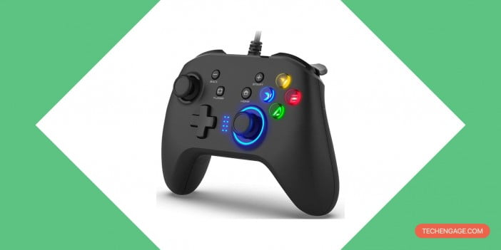 be1 Wired Gaming Controller on Amazon
