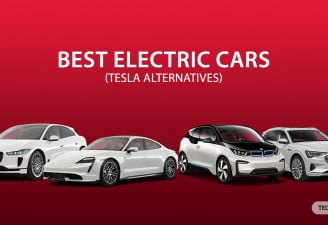 An Image of best Tesla's competitors electric cars