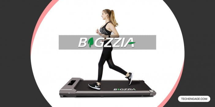 Bigzzia Motorised Treadmill Under Desk