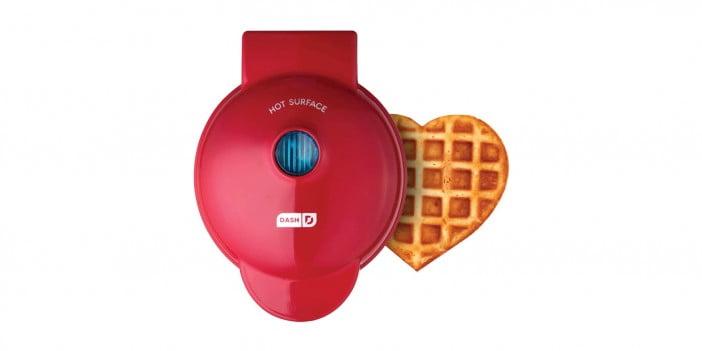 An Image of heart-shaped-waffle-maker