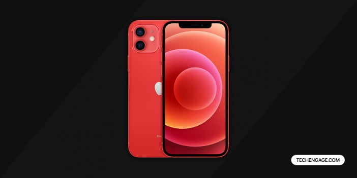 RED iPhone 12 image