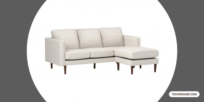 Rivet Revolve Modern Upholstered Sectional