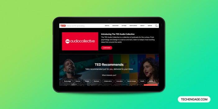TED talk app