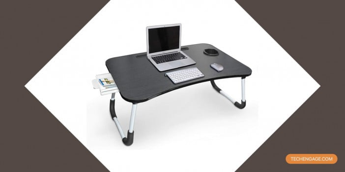 An Image of Yidax foldable laptop desk for bed