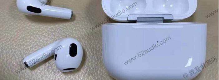 new airpods 3 design