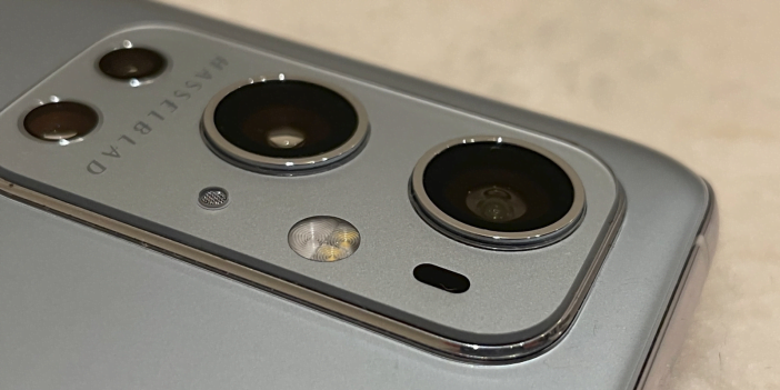 An Image of OnePlus 9 rear camera