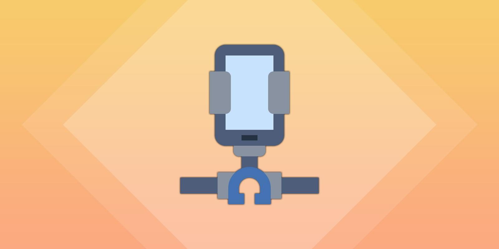 Bike mount for phones