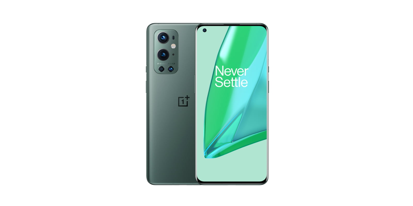 OnePlus 9 pro in green