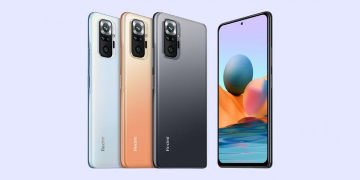 Xiaomi Redmi Note 10 phones