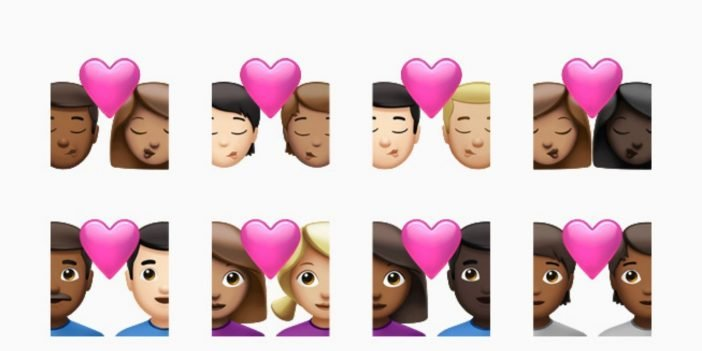 The set of new emojis