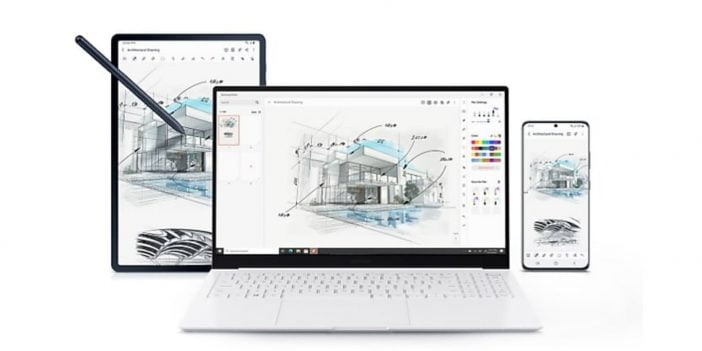 An Image of Samsung Galaxy Book Pro