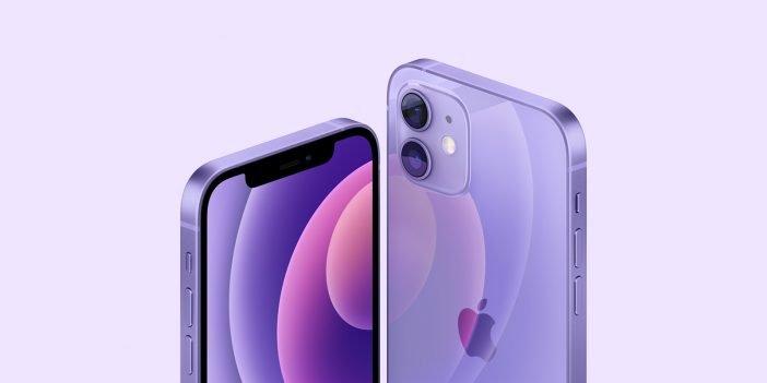 iPhone 12 in Purple