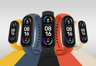Mi Band 6 colors