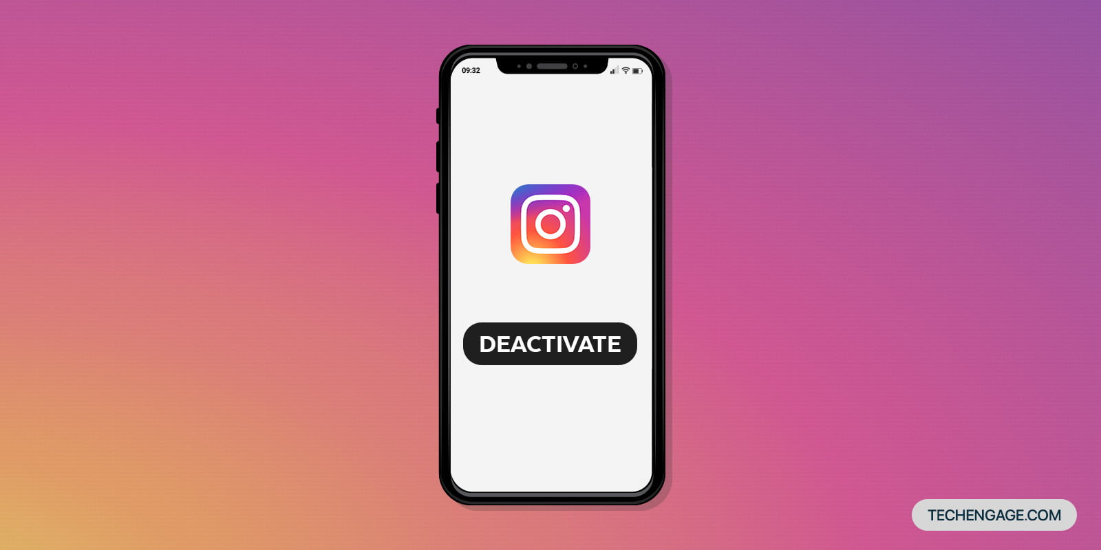 How to disable or delete an Instagram account
