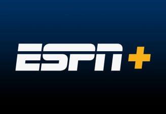 A logo of ESPN Plus