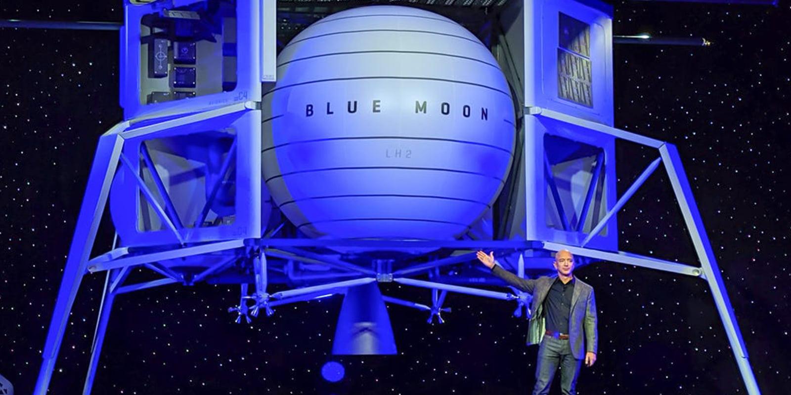 Jeff Bezos offers NASA $2 billion for lunar landing contract
