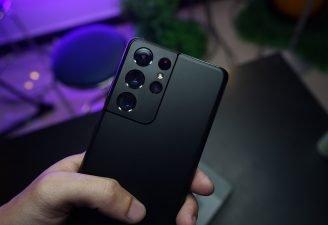 Samsung Galaxy S21 Ultra in Black