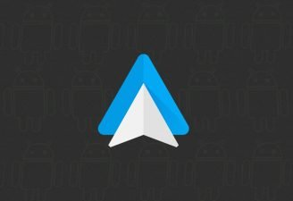 Screenshot of logo of Android Auto app