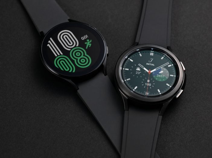 Black Galaxy Watch 4 and Classic