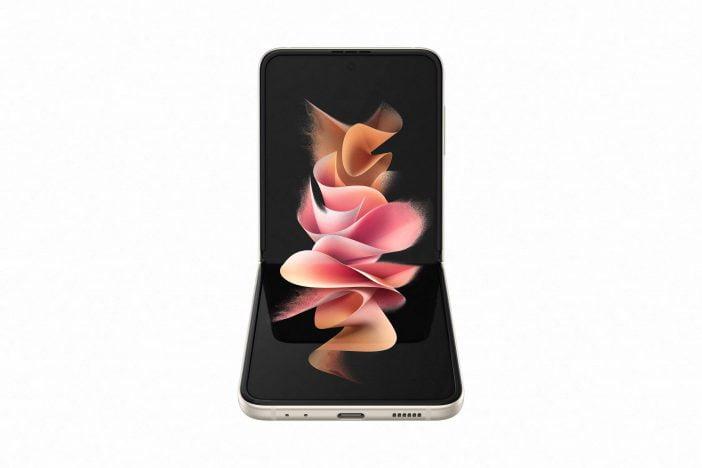 Samsung Galaxy Z Flip 3 bent form