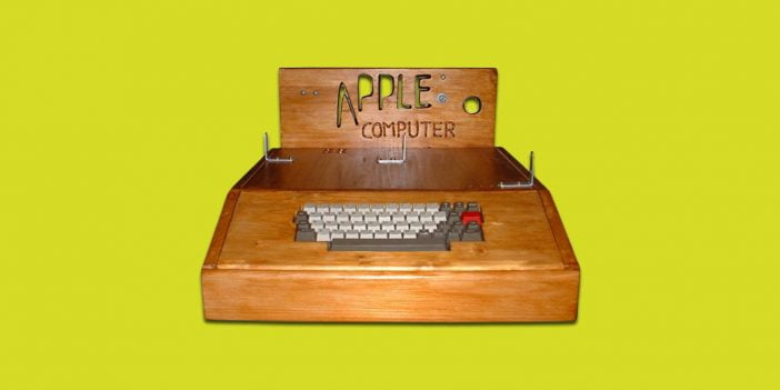 An image of Apple I computer