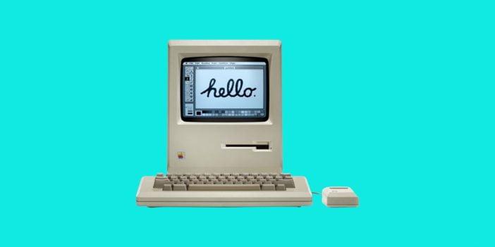 An image of Apple Macintosh computer