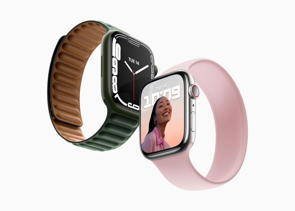 Apple unveils Watch Series 7, featuring a larger display, more battery life