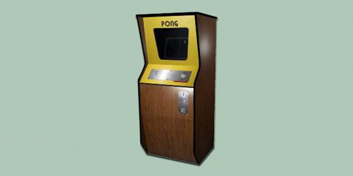 An image of Pong