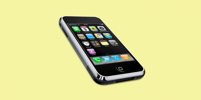An image of iPhone first gen from 2007