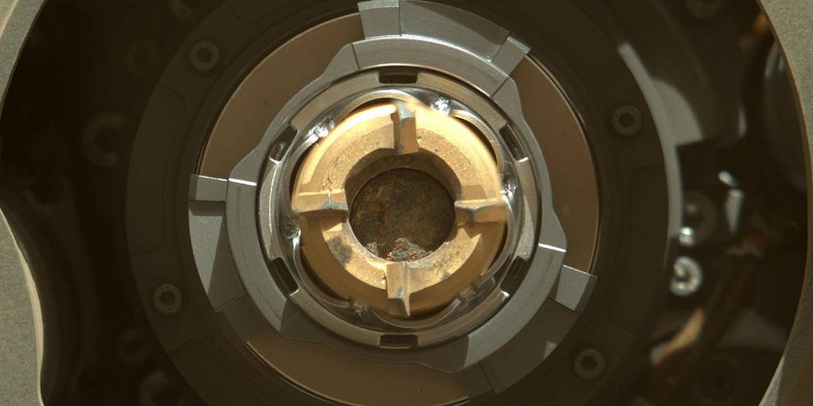 NASA confirms Perseverance rover's first Mars rock sample